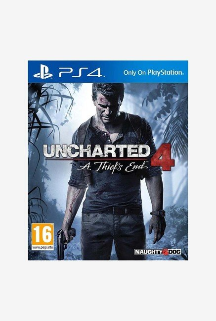 Uncharted 4 : A Thief's End Game for PS4