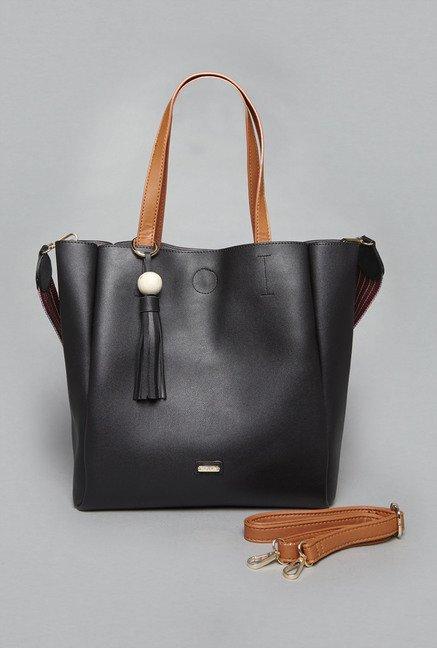 Lov By Westside Black Ainhoa Tote Bag