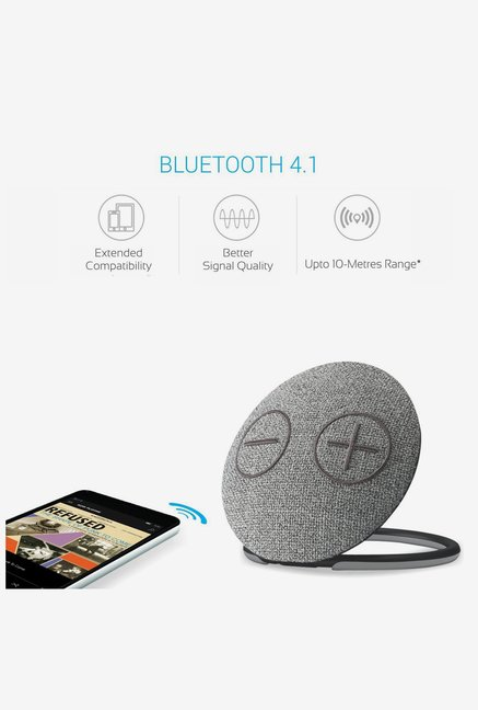 Portronics Dome Speaker Portable Bluetooth Speaker (White)