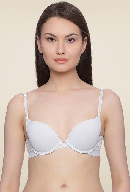 f52ee41f3362a Buy Zivame White Full Coverage Padded T-Shirt Bra for Women Online   Tata  CLiQ