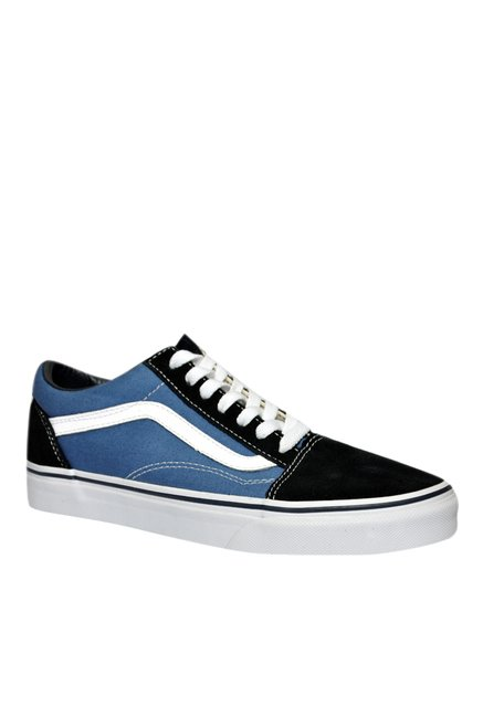 f0bc5222c44a91 Buy Vans Old Skool Blue   Black Sneakers for Women at Best Price ...