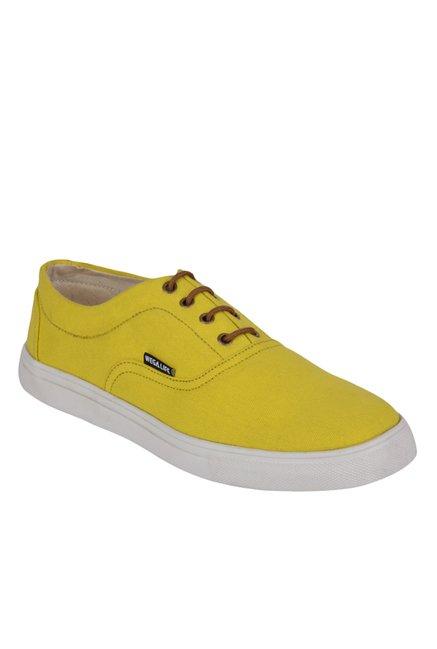 Wega Life Stellar Yellow Oxford Shoes