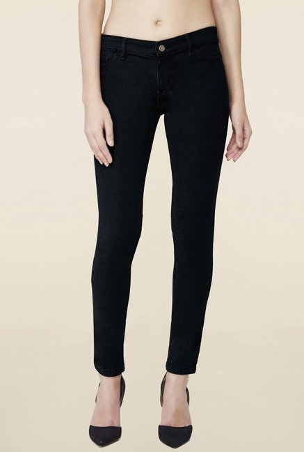 AND Black Raw Denim Jeans