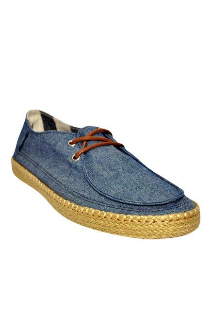 Vans Rata Blue Espadrille Shoes