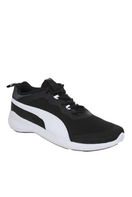Buy Puma Pacer Evo IDP Black   White Training Shoes for Men at ... 483a34c98