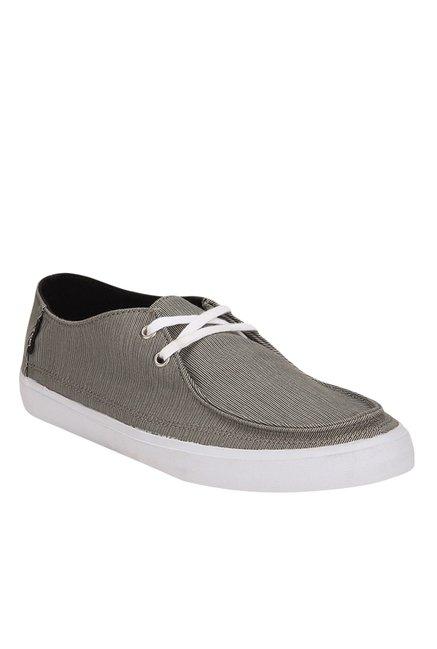 Vans Rata Light Grey Plimsolls