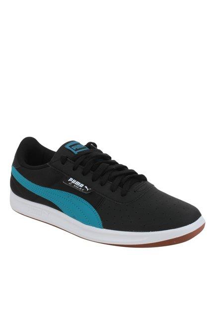 a0b227336e0 Buy Puma G. Vilas 2 Core IDP Black   Blue Sneakers for Men at Best Price    Tata CLiQ