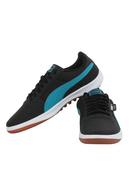 0552302327fc Buy Puma G. Vilas 2 Core IDP Black   Blue Sneakers for Men at Best ...