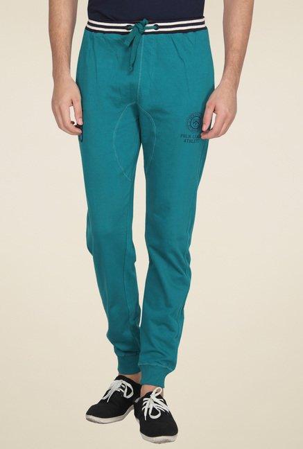 Proline Teal Regular Fit Track Pants