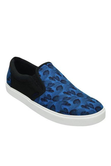 Crocs CitiLane Tropical Ocean Blue & White Plimsolls