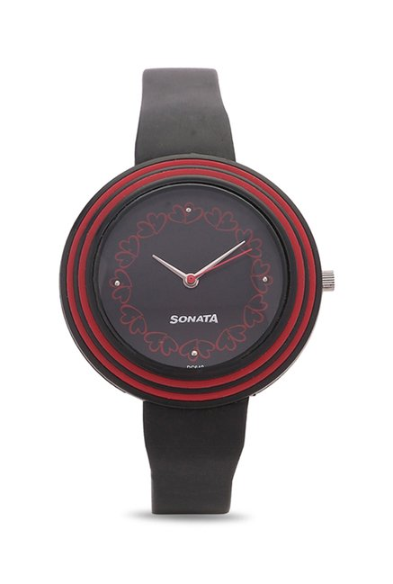 Sonata 8995PP03 Analog Black Dial Women's Watch