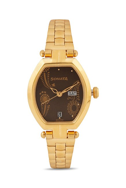 Sonata 8083YM03 Analog Watch for Women