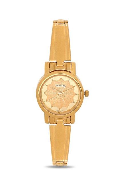 Sonata 8976YM03CJ Analog Women's Watch (8976YM03CJ)