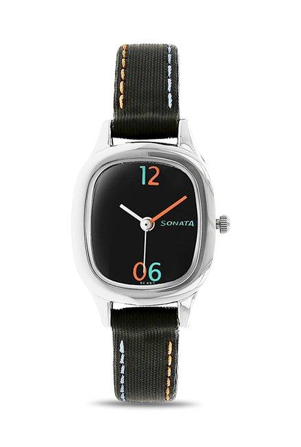 Sonata NG8060SL03C Analog Watch for Women
