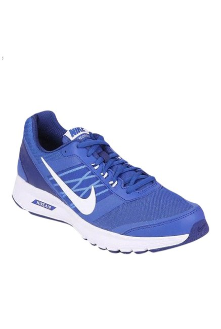 64f3a5d003a49 Buy Nike Air Relentless 5 MSL Blue & White Running Shoes for Men at ...