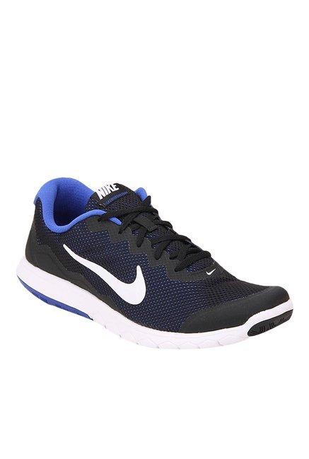... 489e6 d38cf Nike Flex Experience Rn 4 Black Blue Running Shoes price in  India super popular ... ae7049e244