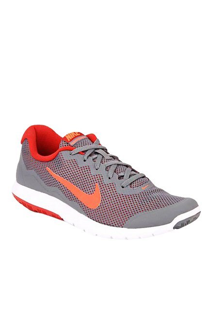 ba43edd677b1 Nike Flex Experience Rn 4 Grey   Red Running Shoes price in India