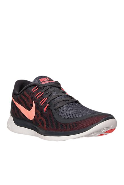 81d2cd0120b Buy Nike Free 5.0 Black   Red Running Shoes for Men at Best Price ...
