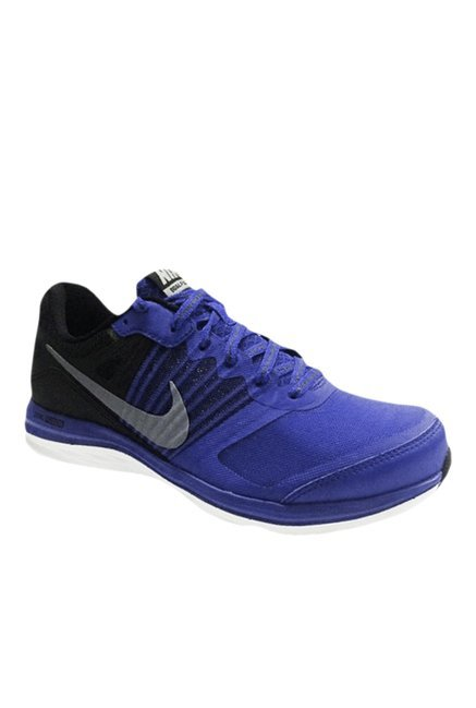 42c22d29d7ed Nike Dual Fusion X MSL Blue   Black Running Shoes price in India