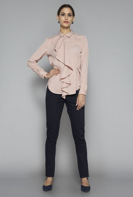 Wardrobe by Westside Pink Molly Blouse