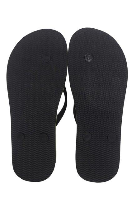 f2ee03e3043 Buy Nike Aquaswift Black   Green Flip Flops for Men at Best Price ...