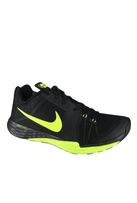 42649dea8d4f Buy Nike Train Prime Iron DF Black   Green Training Shoes for Men at ...