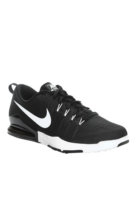 5bc8a440eceaa Buy Nike Zoom Train Action Black   White Training Shoes for Men at Best  Price   Tata CLiQ