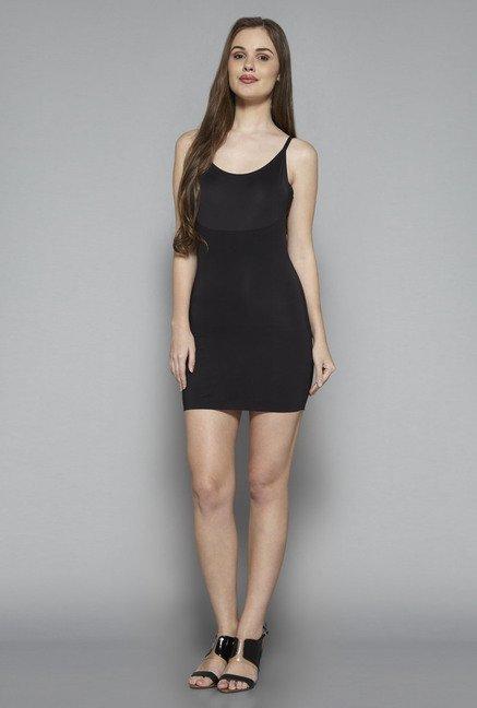 06fba06608 Buy Wunder Love by Westside Black Solid Shapewear Dress for Women ...