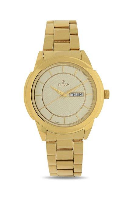 9130c66714596 Buy Titan NJ1585YM01 Regalia Analog Watch for Men Online at best ...
