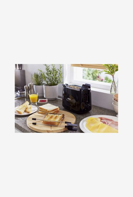 Philips Daily Collection HD2583/90 2 Slice Toaster (Black)