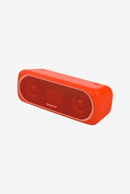 Sony XB30 Portable Wireless Bluetooth Speaker (Red)