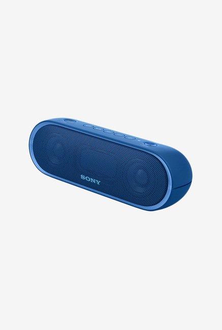 Sony XB20 Portable Wireless Bluetooth Speaker (Blue)