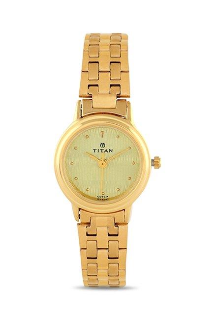 Titan NH354YM01 Analog Watch for Women
