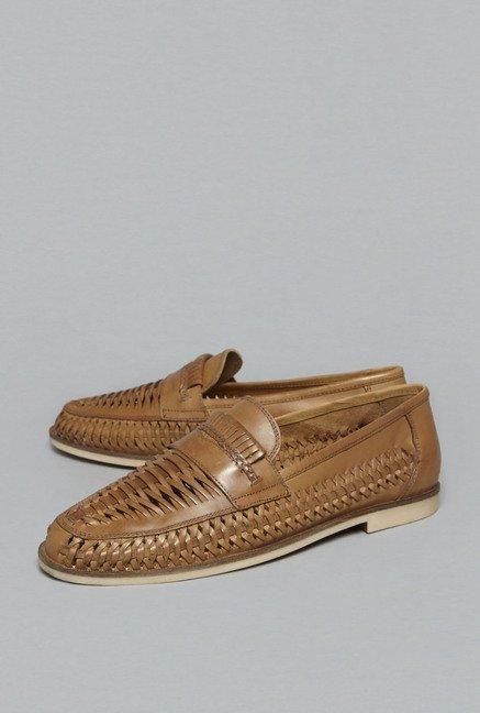 1b14d69df95 Buy David Jones by Westside Tan Huarache Loafers For Men Online ...