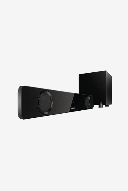 Philips HTL1041/94 2.1 Channel Soundbar Speaker (Black)