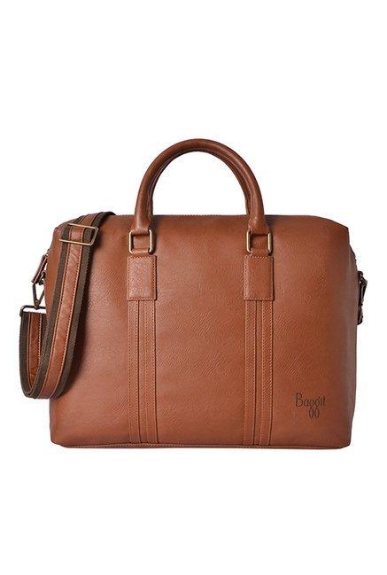 Baggit Chief Escape Cognac Medium Messenger Bag