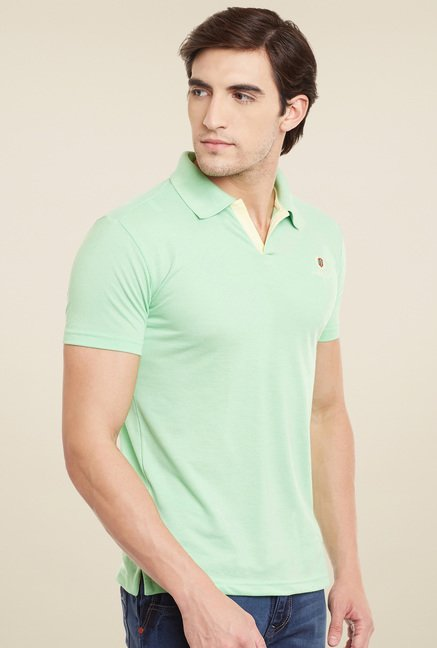 Duke Pistachio Short Sleeves Polo T-Shirt