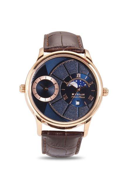 Titan 1710WL01 Globe Trotter Analog Watch for Men