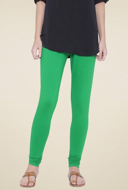 Shree Green Mid Rise Leggings