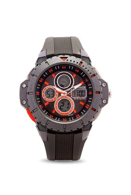 Sonata 77044PP04J Analog-Digital Watch for Men