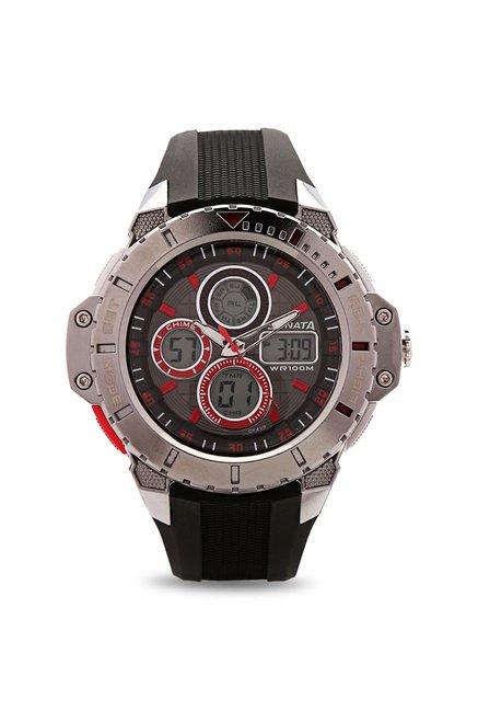 Sonata 77044PP01J Digital Watch