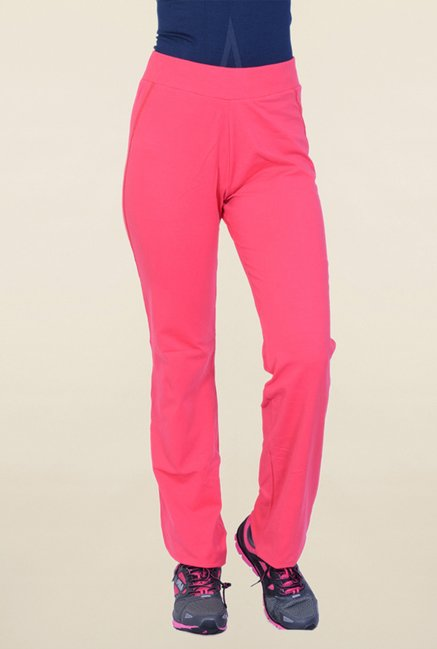 Proline Pink Solid Trackpant
