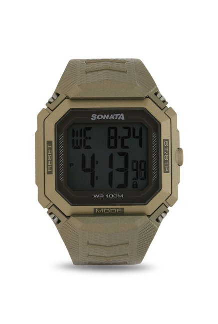Sonata 77048PP01 Digital Watch (77048PP01)