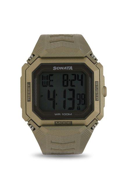 Sonata 77048PP01 Digital Watch