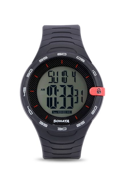 Sonata 77041PP04 Digital Watch (77041PP04)