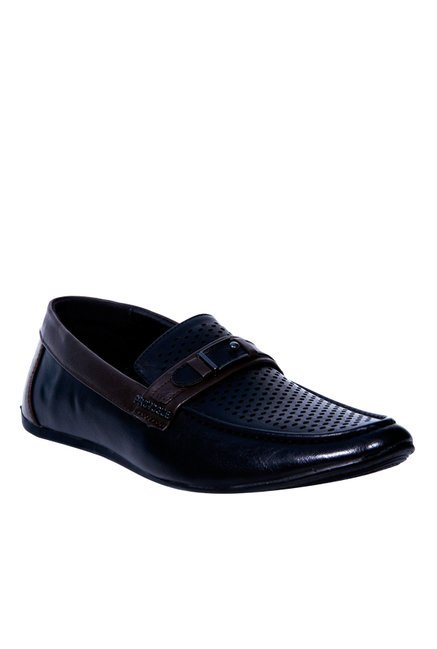 1e7c6299bf5 Buy Provogue Black   Coffee Brown Loafers for Men at Best Price   Tata CLiQ