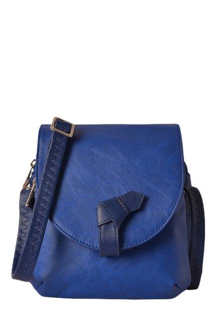 d32244c76709 Buy Baggit L Dalien Bindas Royal Blue Sling Bag For Women At Best Price    Tata CLiQ