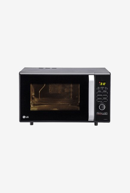 LG MC2886BFTM 28 L Convection Microwave Oven (Black)
