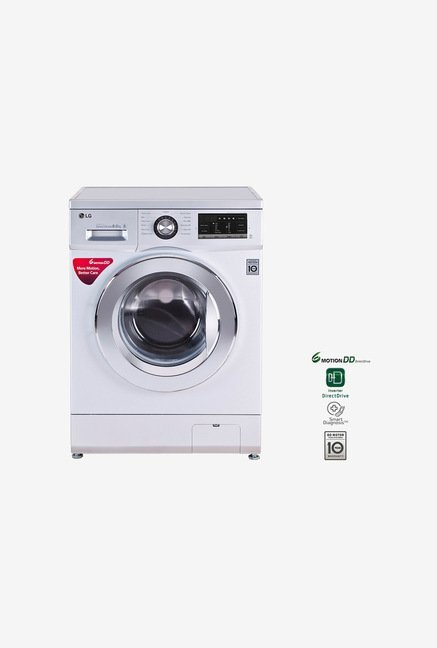 LG FH4G6TDNL42 8 KG Fully Automatic Front Loading Washing Machine Silver