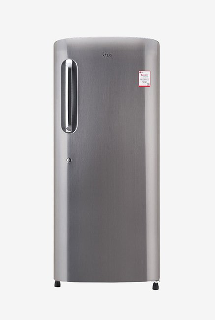 LG GL-B241APZX 235L 4S Single-door Refrigerator (Shiny Steel)